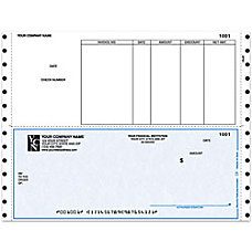 Continuous Accounts Payable Checks For Sage