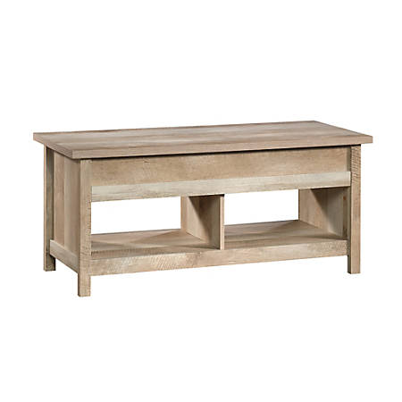 Sauder® Cannery Bridge Lift-Top Coffee Table, Rectangle, Lintel Oak