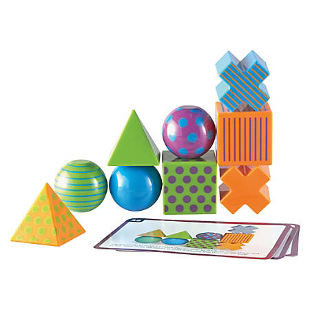 Learning Resources Mental Blox Activity Game - Skill Learning: Critical Thinking, Strategic Thinking, Problem Solving - 20 Pieces