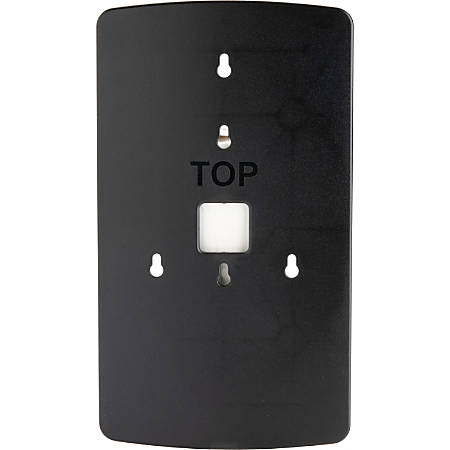 Genuine Joe OmniPod Dispenser Wallplate - Black