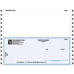 Continuous Multipurpose Voucher Checks For One