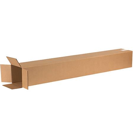 "Office Depot® Brand Tall Corrugated Boxes, 50""H x 6""W x 6""D, Kraft, Bundle Of 25"