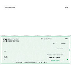 Continuous Multipurpose Voucher Checks For RealWorld
