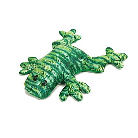 Manimo™ Weighted Animal, Frog, 5.5 Lb, Green