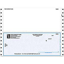 Continuous Multipurpose Voucher Checks For Sage