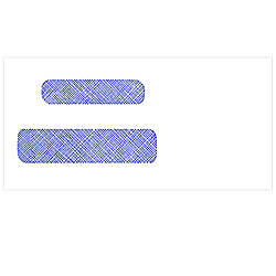 Tinted Self Seal Double Window Envelopes