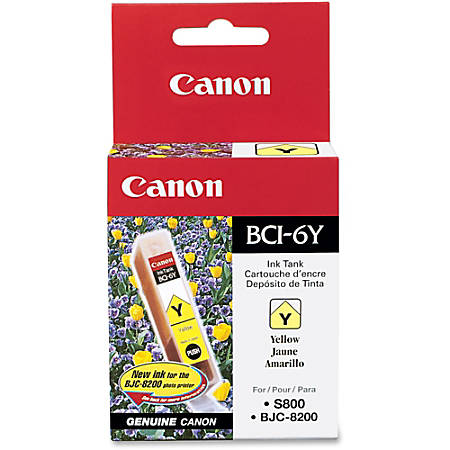 Canon BCI-6Y Yellow Ink Tank (4708A003)