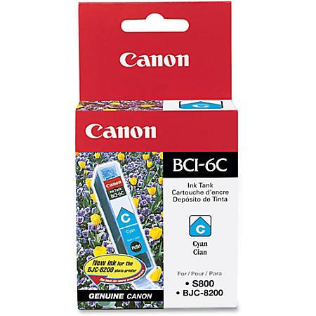 Canon BCI-6C Cyan Ink Tank (4706A003)