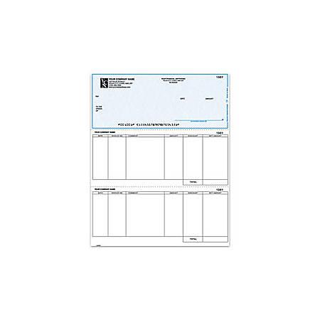 "Laser Accounts Payable Checks For MAS90/MAS200/MAS500®, 8 1/2"" x 11"", 2 Parts, Box Of 250"