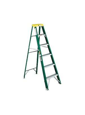 Louisville Fiberglass Standard Step Ladder - 225 lb Load Capacity72