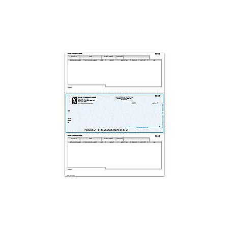 "Laser Accounts Payable Checks For Dynamics®/Great Plains®/Microsoft®, 8 1/2"" x 11"", 2 Parts, Box Of 250"