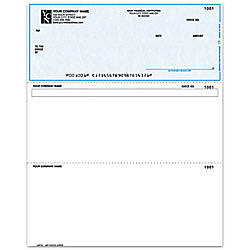 Laser Multipurpose Voucher Checks For ACCPAC