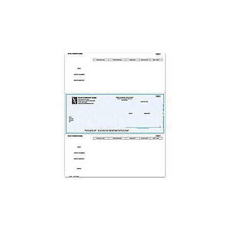 "Custom Laser Accounts Payable Checks For DACEASY®, 8 1/2"" x 11"", 1 Part, Box Of 250"
