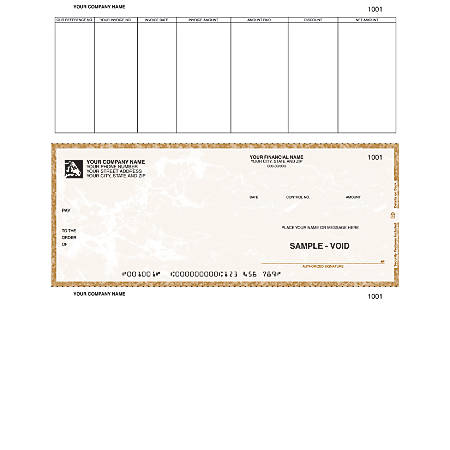 "Custom Laser Accounts Payable Checks For Great Plains®, 8 1/2"" x 11"", 1 Part, Box Of 250"