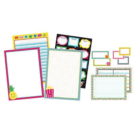 Carson-Dellosa School Pop Classroom Organizers Bulletin Board Set, Multicolor, Grades K-5