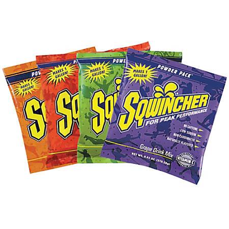 Sqwincher Powder Packs™, Grape, 9.53 Oz, Case Of 80
