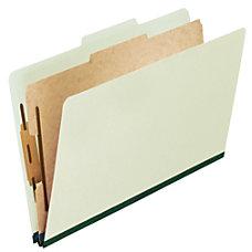 Pendaflex Pressboard 6 Fastener Classification Folders