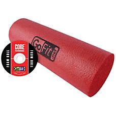 GoFit GF FROLL Foam Roller Red