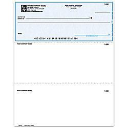 Laser Multipurpose Voucher Checks For MECA