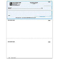 Laser Multipurpose Voucher Checks For MECA