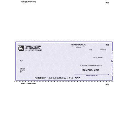 """Laser Multipurpose Voucher Checks For RealWorld®, 8 1/2"""" x 11"""", 1 Part, Box Of 250"""