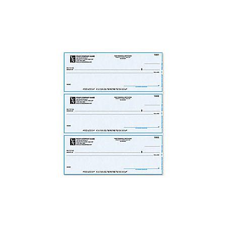 """Custom Laser Multipurpose Draft Checks For MECA®, 8 1/2"""" x 11"""", 1 Part, Box Of 250"""