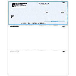 Laser Multipurpose Voucher Checks For ACCPAC