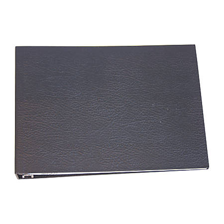 Standard 3-To-A-Page Binder, Black