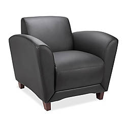 Lorell Accession Bonded Leather Reception Club