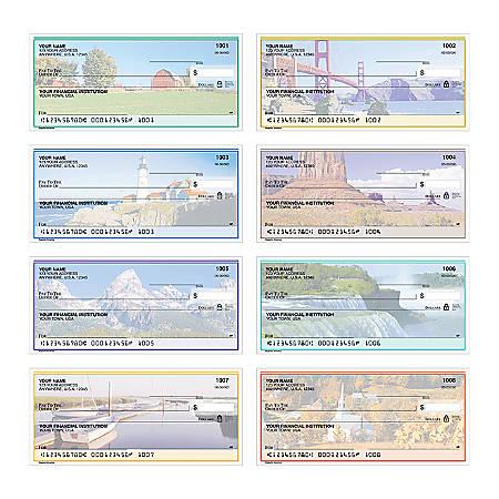 "Personal Wallet Checks, 6"" x 2 3/4"", Singles, Majestic America, Box Of 150"