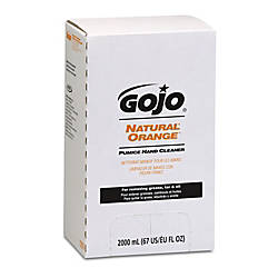 GOJO Natural Orange Hand Soap With