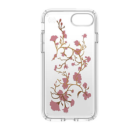 Speck® Presidio™ CLEAR Hard Case For Apple® iPhone® 7, Blossom