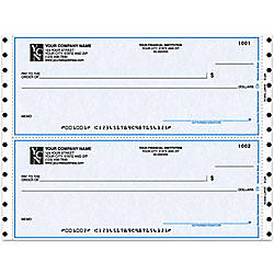 Continuous Multipurpose Draft Checks For Quicken