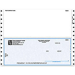 Continuous Multipurpose Voucher Checks For DACEASY