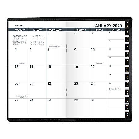 AT-A-GLANCE® 13-Month Monthly Planner, 6