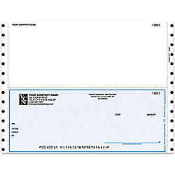 Continuous Multipurpose Voucher Checks For Sage