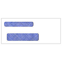 Tinted Double Window Envelopes Regular Gummed