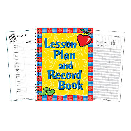 Eureka Lesson Plan And Record Books, Pack Of 3