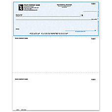 Laser Multipurpose Voucher Checks With Lines