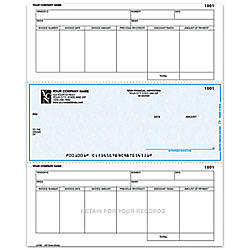 Laser Accounts Payable Checks For One