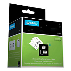 DYMO LabelWriter 30857 Self Adhesive Name