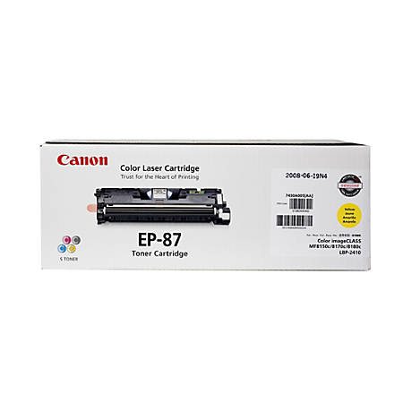 Canon EP-87Y Yellow Toner Cartridge (7430A005BA)