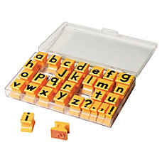 Educational Insights Lowercase Alphabet Stamps Custom