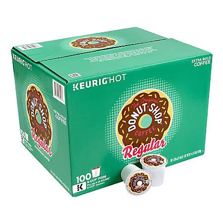 The Original Donut Shop® Regular Medium Roast Coffee K-Cup® Pods, 1 Oz, Pack Of 100 Pods