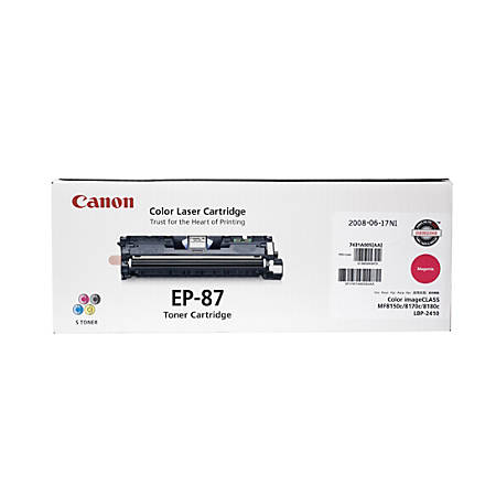 Canon EP-87M Magenta Toner Cartridge (7431A005BA)