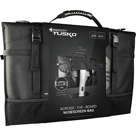 """Roccat Tusko Carrying Case for 24"""" LCD Monitor"""