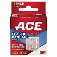 ACE Elastic Bandage with E Z