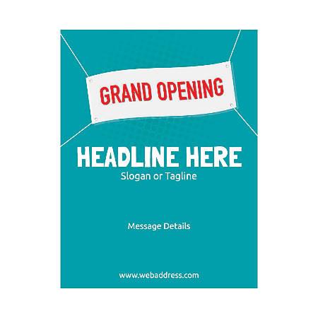 Custom Flyer, Vertical, Grand Opening Banner