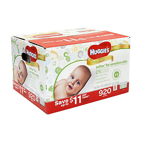 Huggies Natural Care Baby Wipes Refill, Pack Of 920 Wipes