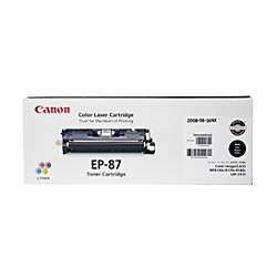 Canon EP 87BK Black Toner Cartridge